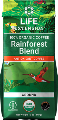 Rainforest Blend Ground Coffee, 12 oz - HENDRIKS SCIENTIFIC