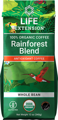 Rainforest Blend Whole Bean Coffee, 12 oz - HENDRIKS SCIENTIFIC