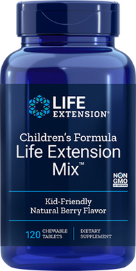 Children's Formula Life Extension Mix™, 120 chewable tablets - HENDRIKS SCIENTIFIC