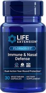 FLORASSIST® Immune & Nasal Defense, 30 vegetarian capsules - HENDRIKS SCIENTIFIC
