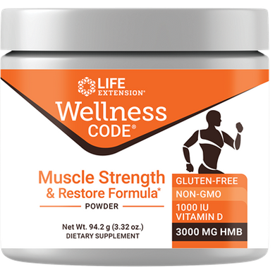 Wellness Code® Muscle Strength & Restore Formula, 3.32 oz - HENDRIKS SCIENTIFIC