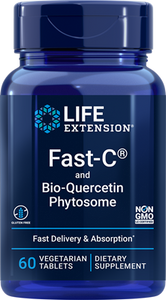 Fast-C® and Bio-Quercetin Phytosome, 60 vegetarian tablets - HENDRIKS SCIENTIFIC