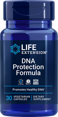 DNA Protection Formula, 30 vegetarian capsules - HENDRIKS SCIENTIFIC