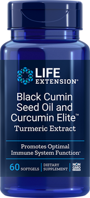 Black Cumin Seed Oil and Curcumin Elite™ Turmeric Extract - HENDRIKS SCIENTIFIC