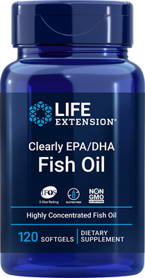Clearly EPA-DHA Fish Oil, 120 softgels - HENDRIKS SCIENTIFIC