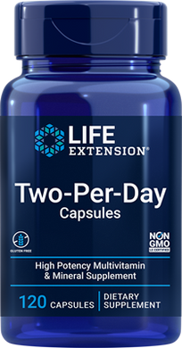 Two-Per-Day Capsules, 120 capsules - HENDRIKS SCIENTIFIC