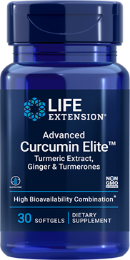Advanced Curcumin Elite™ Turmeric Extract, Ginger & Turmerones - HENDRIKS SCIENTIFIC