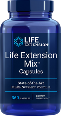 Life Extension Mix™ Capsules, 360 capsules - HENDRIKS SCIENTIFIC
