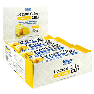 Cbd Bars, Lemon Cake, 12 (1.7 oz) Bars - HENDRIKS SCIENTIFIC