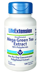 Decaffeinated Mega Green Tea Extract - HENDRIKS SCIENTIFIC