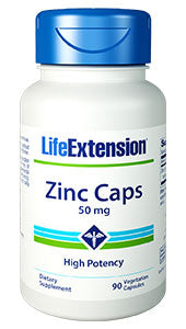Zinc Caps | 50 mg, 90 vegetarian capsules - HENDRIKS SCIENTIFIC