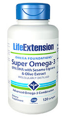 Super Omega-3 EPA-DHA with Sesame Lignans & Olive Extract - HENDRIKS SCIENTIFIC