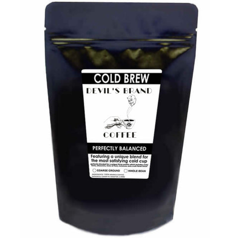 Devil's Brand Coffee Cold Brew Blend - Hamtown Trading Co.