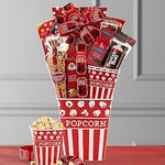 MOVIES! MOVIES! MOVIES!: GOURMET SNACK GIFT BASKET - Hamtown Trading Co.