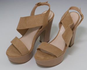 MADE IN ITALIA Plateausandalette Fiammetta beige
