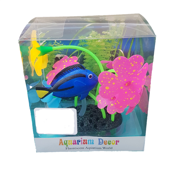 FLOURESCENT DORY FISH ORNAMENT