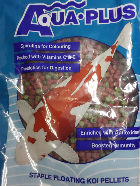 AQUAPLUS KOI PELLETS 5MM 1KG