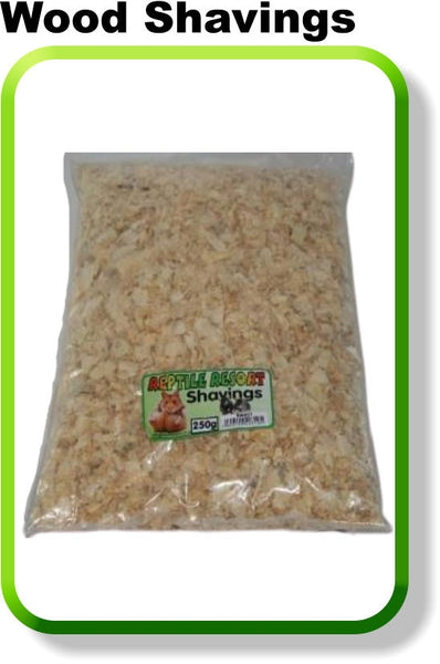 REPTILE RESORT WOOD SHAVINGS 250G