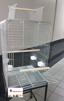 PARROT CAGE DELUXE GALVANISED - In store only