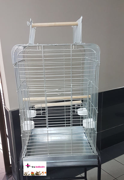PARROT CAGE DELUXE GALVANISED - Just Arrived