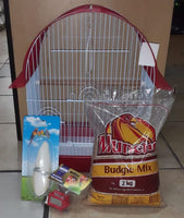 BUDGIE/FINCH STARTER SET