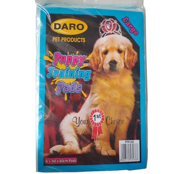 DARO PUPPY TRAINING PADS 6S 60X60CM - JUST ARRIVED