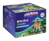 MARLTONS WILD BIRD FEEDER IN BOX PLUS FREE SEED