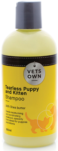 VETS OWN SHAMPOO TEARLESS PUPPY & KITTEN 250ML - Just arrived