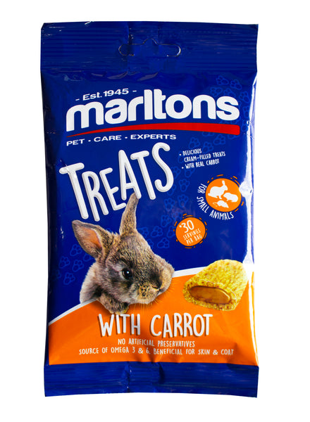 MARLTONS CARROT TREATS FOR SMALL ANIMALS - ONLINE DEAL ONLY