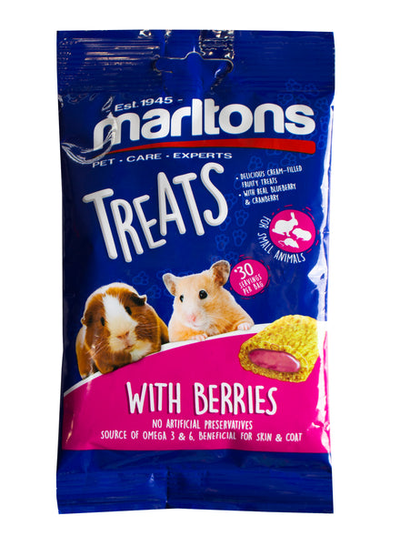 MARLTONS TREAT BERRIES FOR SMALL ANIMALS - ONLINE DEAL ONLY