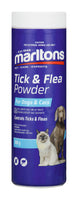 MARLTONS TICK AND FLEA POWDER 100G