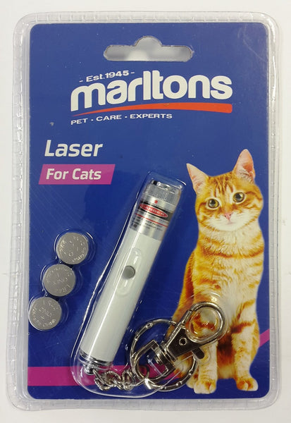 MARLTONS LASER TOY - ON KEYRING - ONLINE DEAL ONLY