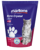 MARLTONS MICRO CAT LITTER CRYSTALS 1.5KG