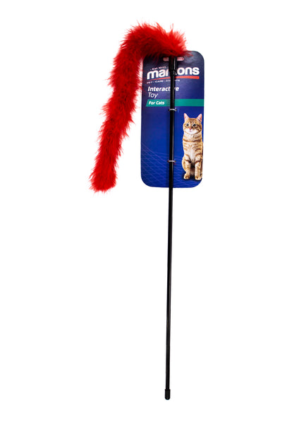 MARLTONS CAT DANGLER FEATHER - ONLINE DEAL ONLY