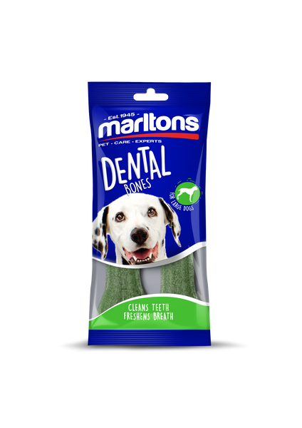 MARLTONS GNAWLERS 4 DENTAL BONES 2PCS - ONLINE DEAL ONLY