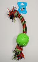 RUBBER BALL ON ELASTIC ROPE