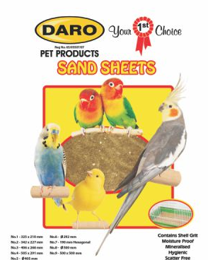 DARO SANDSHEET SIZE 1 - 32 x 20 - Just Arrived