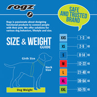 ROGZ REFLECTIVE HALF-CHOKE CHAIN MEDIUM