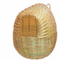 NEST - RATTAN FINCH IMPORTED LARGE - Just Arrived