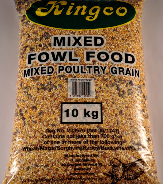 KINGSBURY MIXED FOWL SEED 10KG - Just Arrived