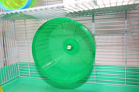 PLASTIC SOLID HAMSTER WHEEL
