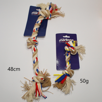MARLTONS DOG ROPE BONE 50G