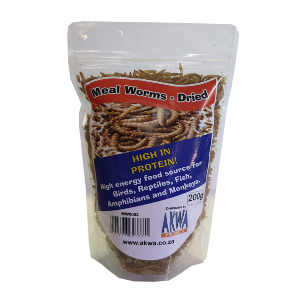 AKWA DRIED MEALWORMS 200G