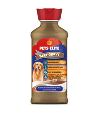 PETS ELITE BEEF GRAVY FOR DOGS 500ML - Just Arrived