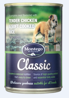 MONTEGO CLASSIC WET FOOD PUPPY 385G