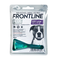 FRONTLINE FLEA & TICK FOR LARGE DOG - POUR-ON - ONLINE DEAL ONLY