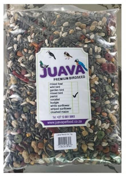 JUAVA MIXED PARROT 1KG - Just Arrived