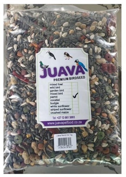JUAVA MIXED PARROT 5KG - Just Arrived