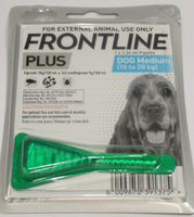 FRONTLINE FLEA & TICK FOR MEDIUM DOGS - POUR-ON