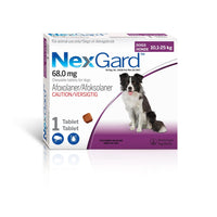 NEXGARD 10-25KG - TICK AND FLEA TREATMENT FOR DOGS - ONLINE DEAL ONLY
